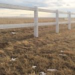 The Fence Clamp - Mount Welded Wire On Vinyl Fence
